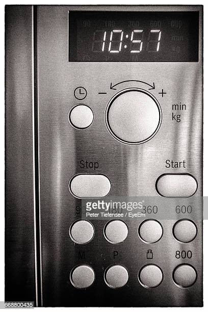 Close-Up Of Oven Timer