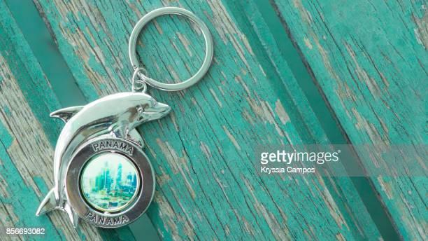 Close-up of Panama Keychain