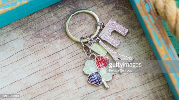 Close-up of Paris Keychain