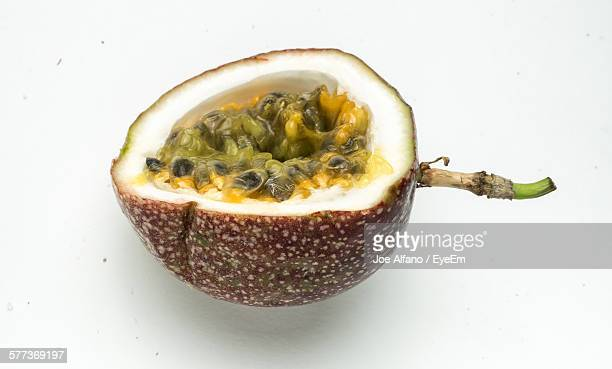Close-Up Of Passion Fruit On Table