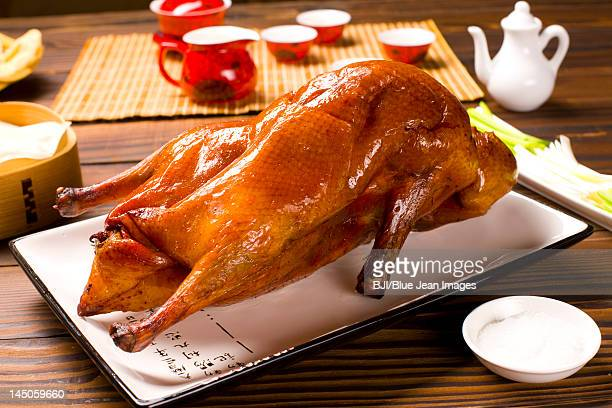 Close-up of Peking roasted duck