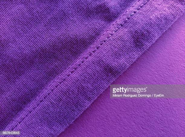 Close-Up Of Purple Textile