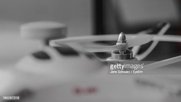 Close-Up Of Quadcopter Drone