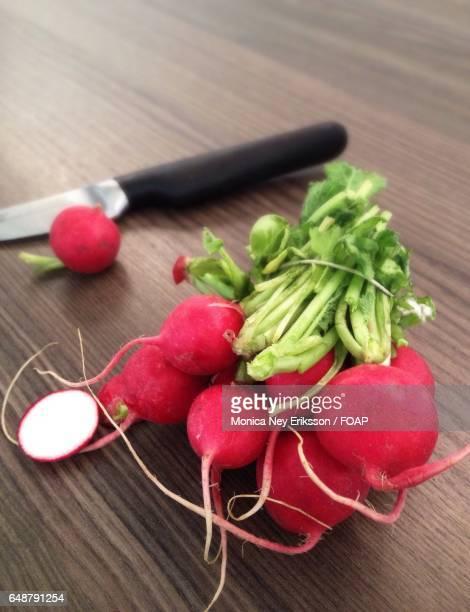 Close-up of radish