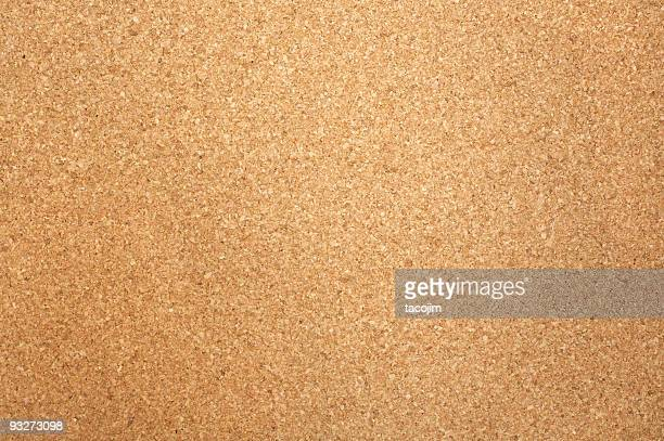Close-up of rectangular corkboard texture