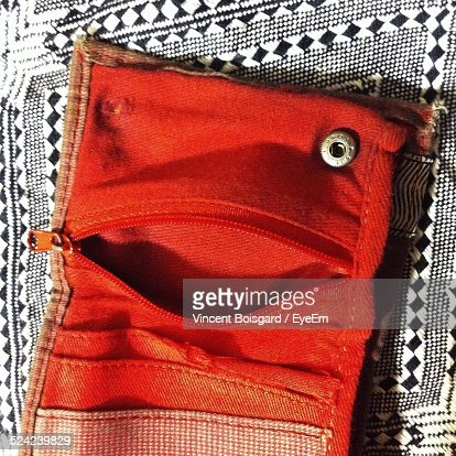 Close-Up of Red Purse