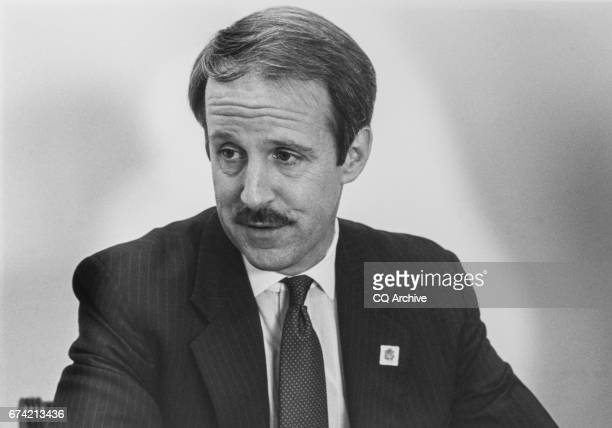 Closeup of Rep Frank Riggs RCalif on Feb 10 1992
