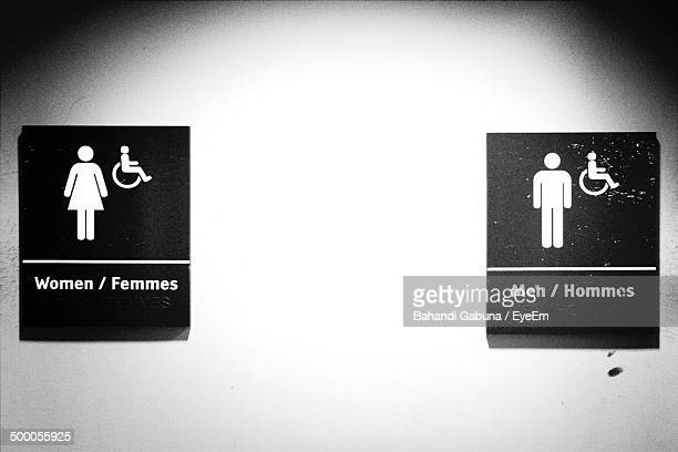 Bathroom Signs South Africa restroom sign stock photos and pictures | getty images