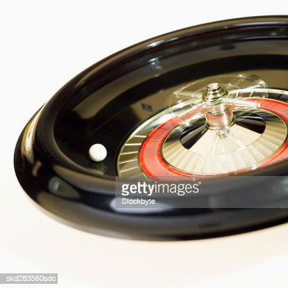 Close-up of roulette wheel : Stock Photo