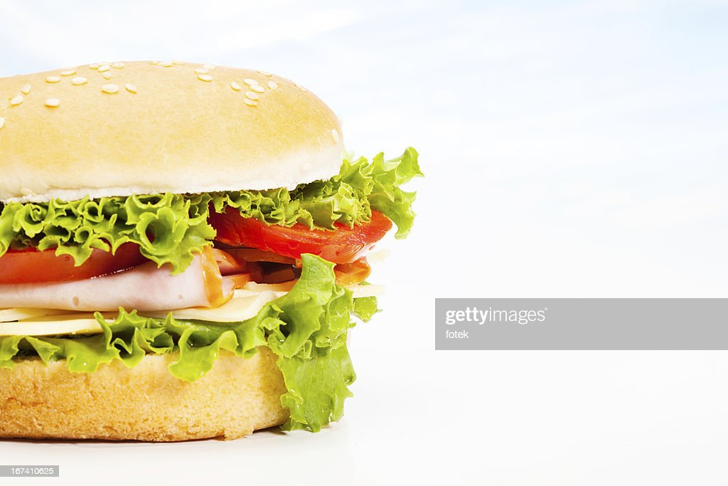 Close-up of sandwich : Stock Photo
