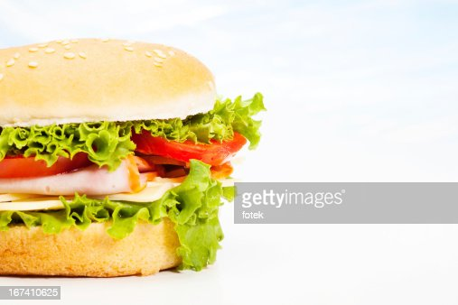 Close-up of sandwich : Bildbanksbilder