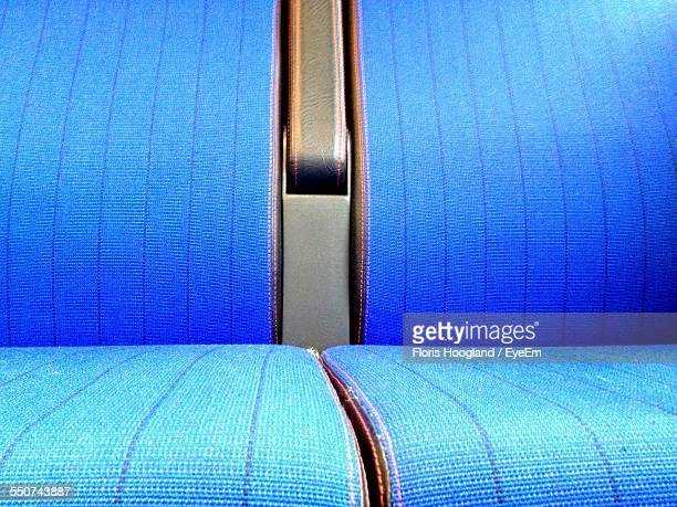 Close-Up Of Seats In Train