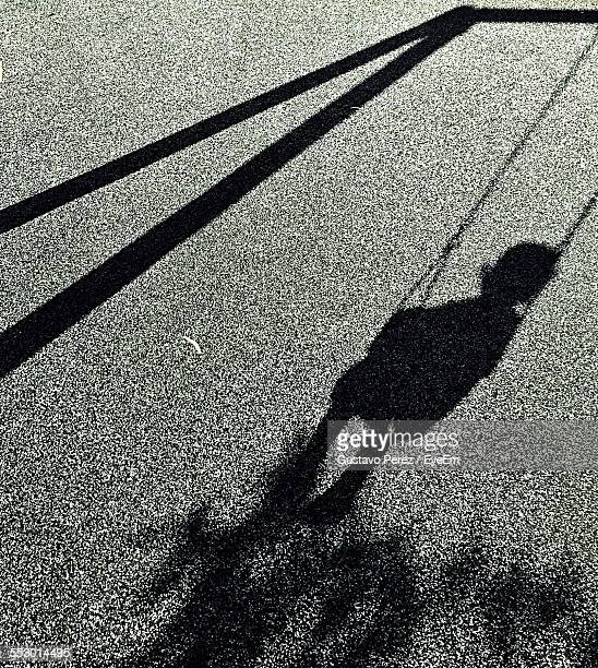 Close-Up Of Shadow On The Ground