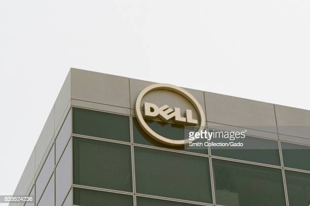 Closeup of signage at the regional headquarters of Dell Computers in the Silicon Valley town of Santa Clara California July 25 2017