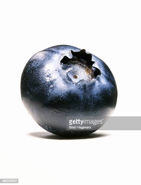 Close-Up of single blueberry