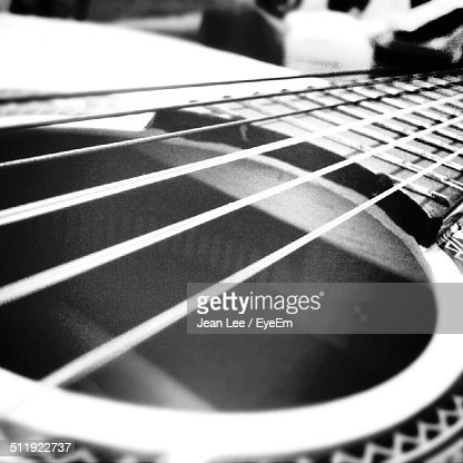 Close-up of sitar