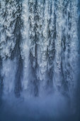 Close-up of Skogafoss Waterfall, Iceland
