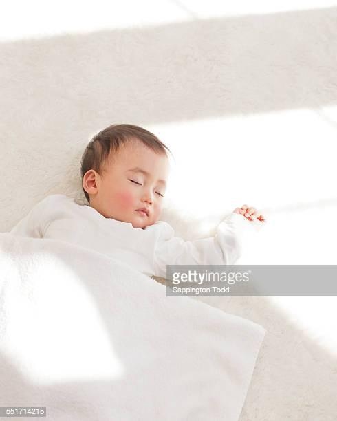 Close-up Of Sleeping Baby