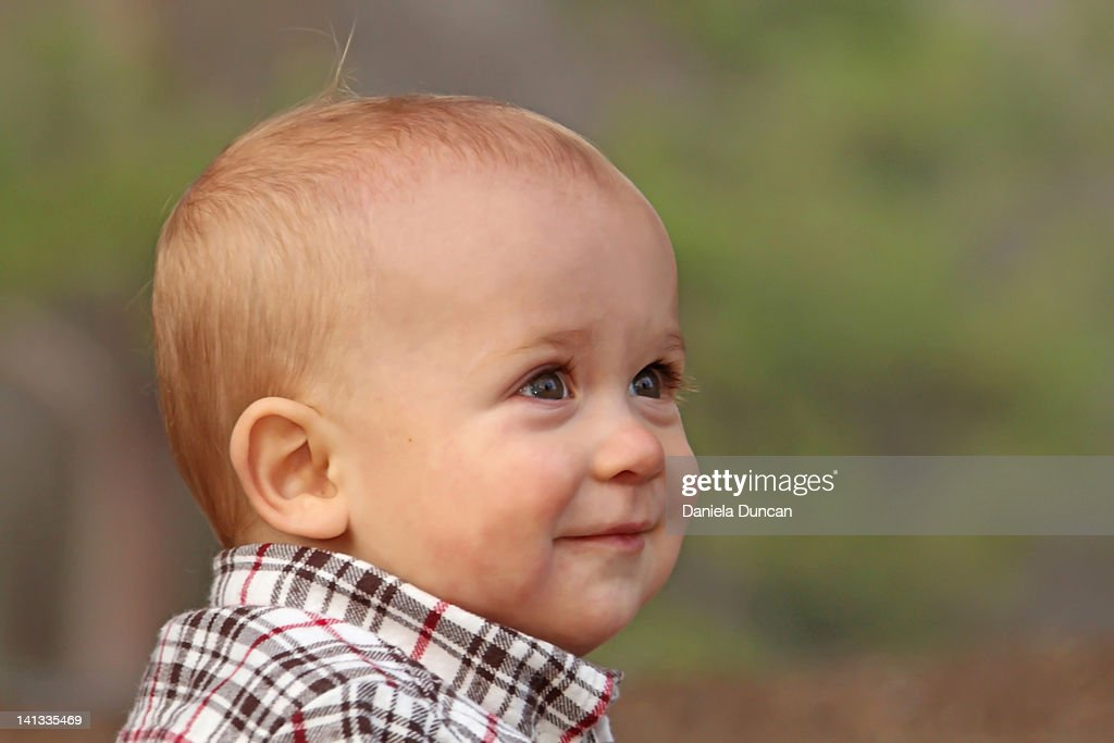 Close-up of smiling : Stock Photo