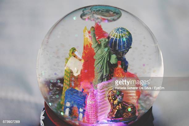 Close-Up Of Snow Globe