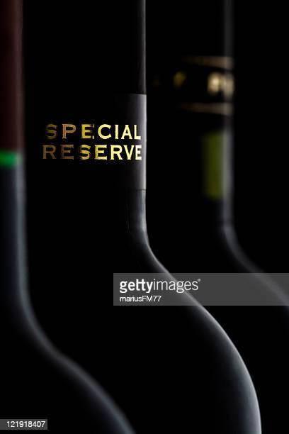 Speciale di vino rosso di riserva
