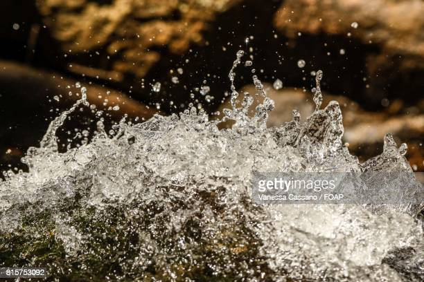 Close-up of splashing water