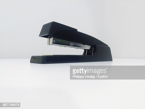 Close-Up Of Stapler On Table