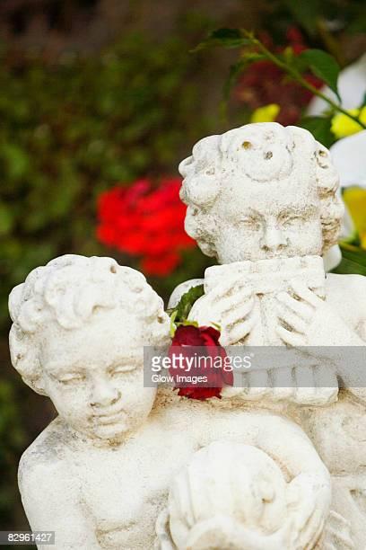 Close-up of statues, Sorrento, Sorrentine Peninsula, Naples Province, Campania, Italy