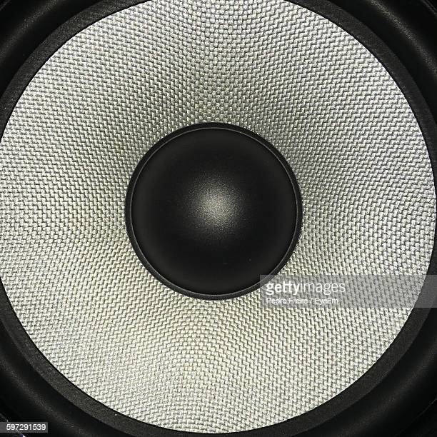 Close-Up Of Stereo Speaker