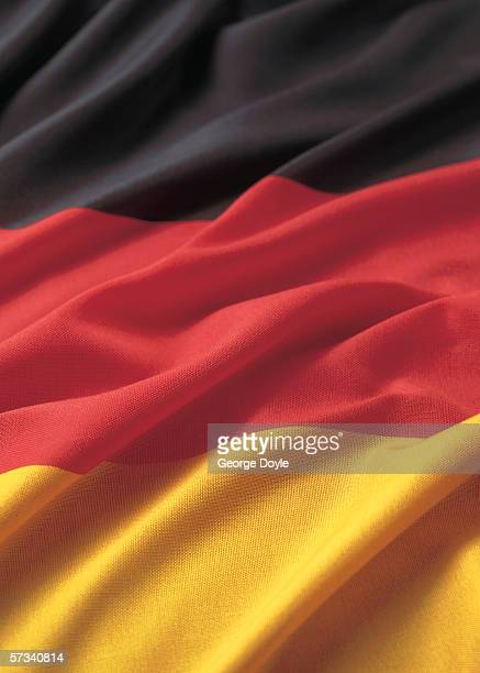 Close-up of the flag of Germany
