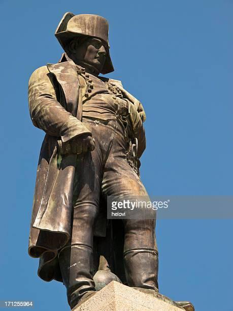 Close-up of the statue of Napoleon in Ajaccio