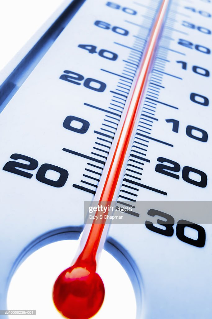 Close-up of thermometer : Stock Photo