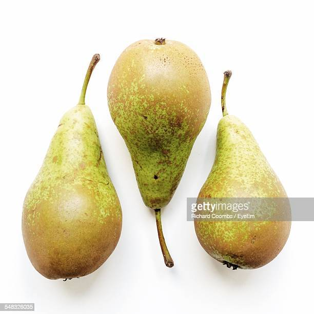 Close-Up Of Three Pear