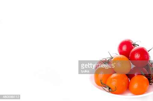 Closeup of tomatoes : Stock Photo