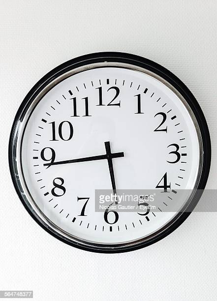 Close-Up Of Wall Clock