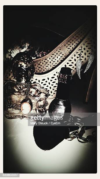Close-Up Of Woman Accessories