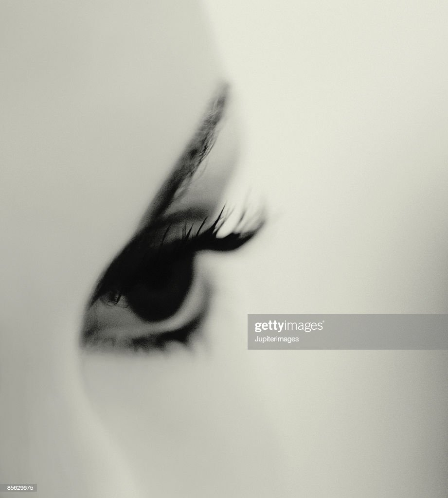 Close-up of Woman's Eye : Stock Photo