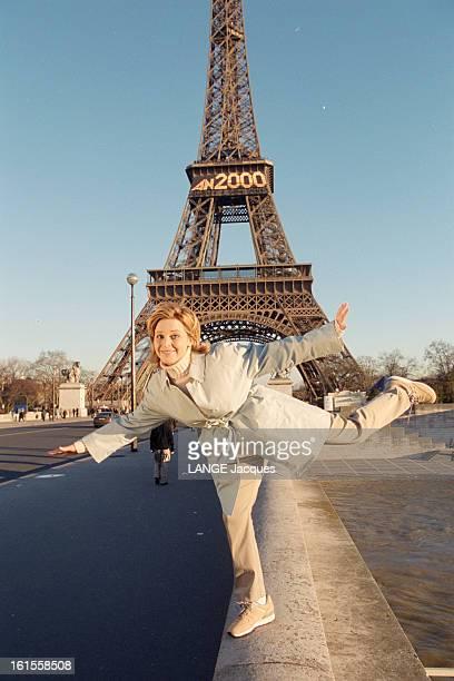 Closeup On Julie Snyder Closeup sur Julie Snyder animatrice de télévision canadienne qui va animer l'émission 'Vendredi c'est Julie' sur France2...