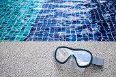 swimming pool gadget, water, mask, snorkel mask, summer