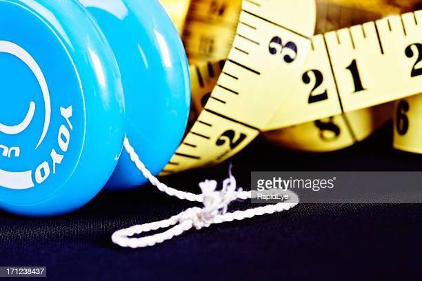 Gros plan sur le yo-yo Régime amaigrissant: Une mauvaise méthode de contrôle du poids