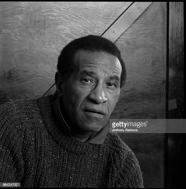 Closeup portrait of American jazz musician Max Roach 1989