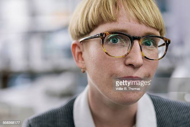 Close-up portrait of female small business owner