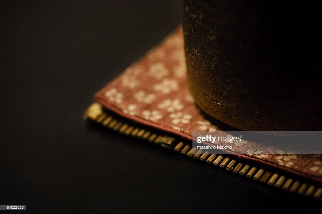 Close-up Shot of Japanese Tea Cup : Stock Photo