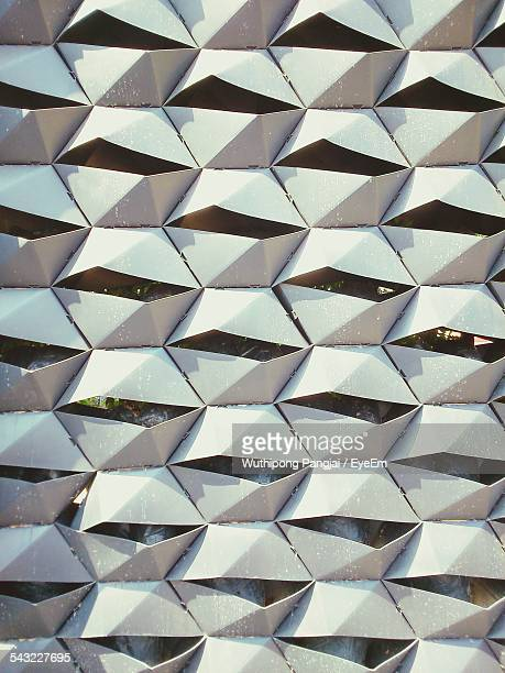 Close-Up View Of Modern Facade