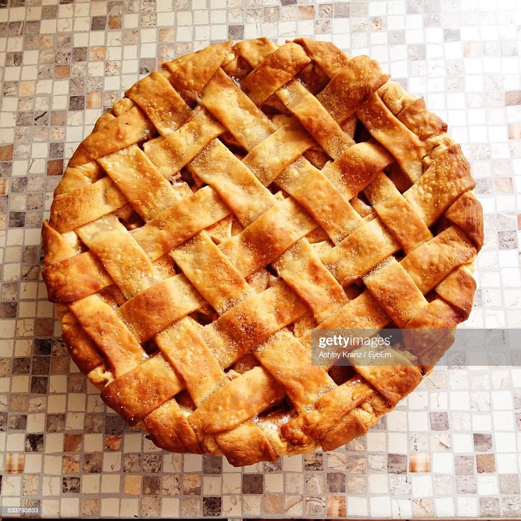 Close-Up View Of Pie