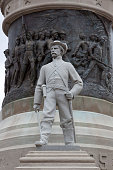 Closeup view of the Confederate Memorial Monument Montgomery Alabama 2010