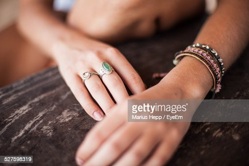 Close-Up View Of Womans Hands