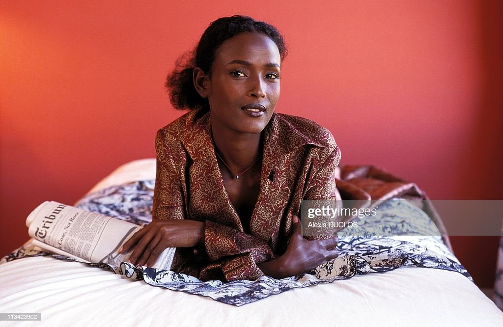 Close-Up Waris Dirie, Top-Model In Paris Exclusive On October 5th, 1995