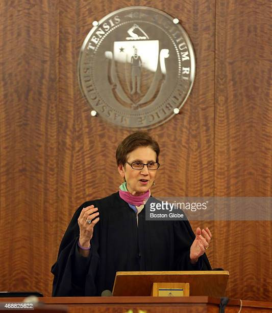 Closing arguments in the Aaron Hernandez trial for the murder of Odin Llyod at Fall River Superior Court Judge Susan Garsh instructs the jury