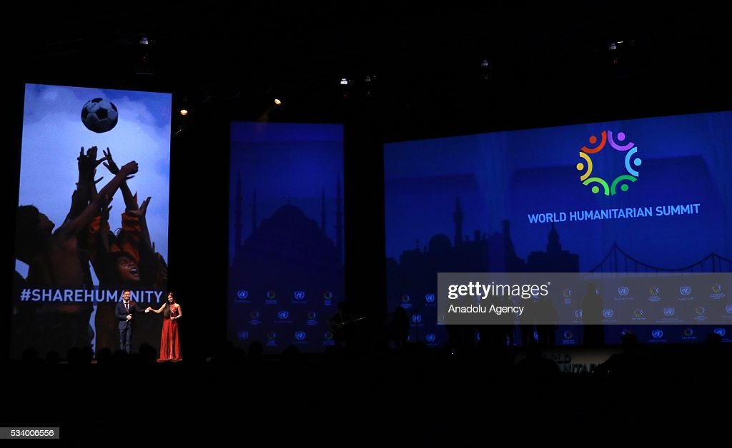 Closing ceremony of World Humanitarian Summit is held at Istanbul Congress Center in Istanbul, Turkey on May 24, 2016.